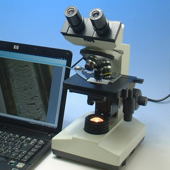 Biological Microscope(Built in digital camera)