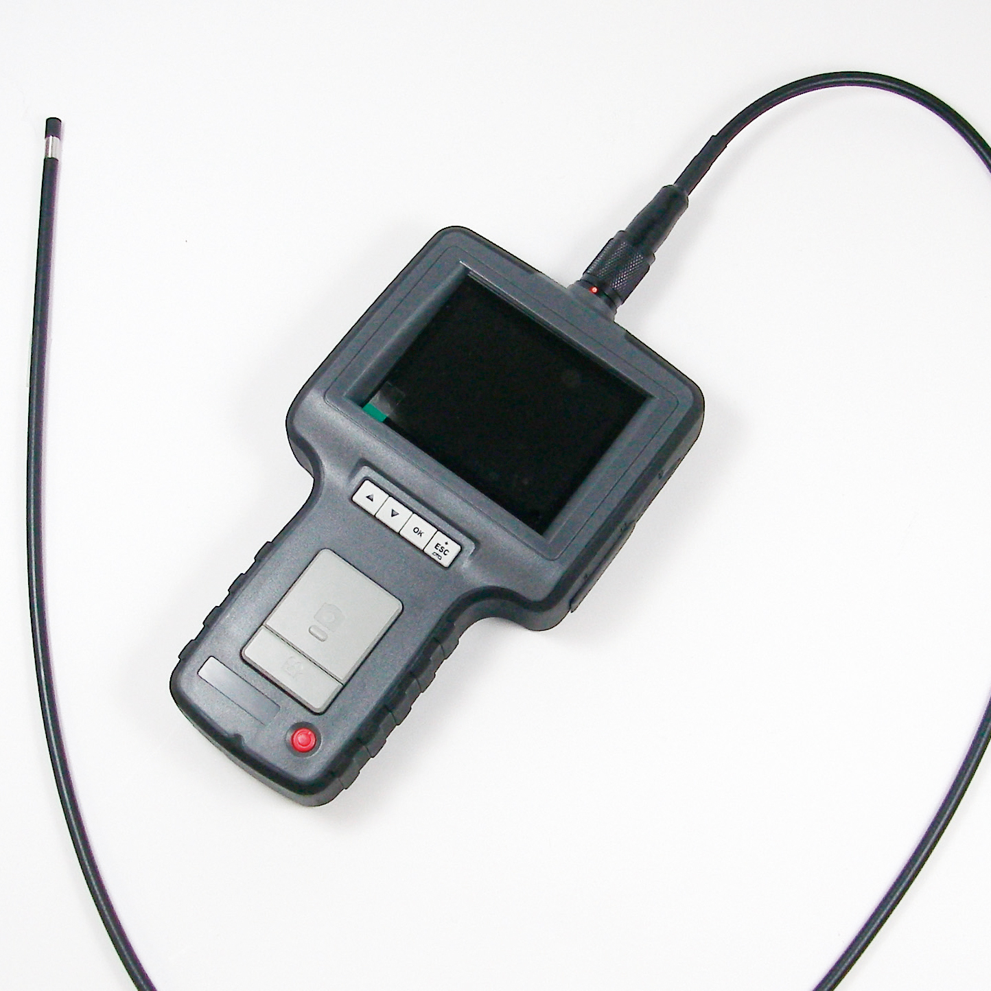 Endoscope with built-in 3.5 inch monitor