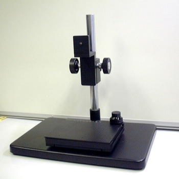 Camera stand with XY table