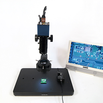 Low magnification HD microscope
