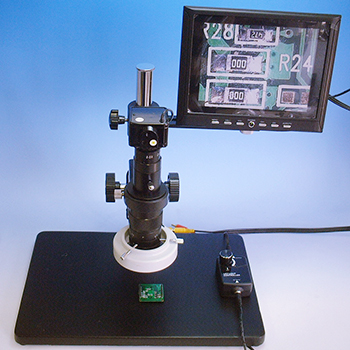 Video Microscope with Monitor
